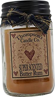 butter rum candle
