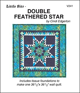 Double Feathered Star - Foundation Paper Piecing Pattern - 36 1/2