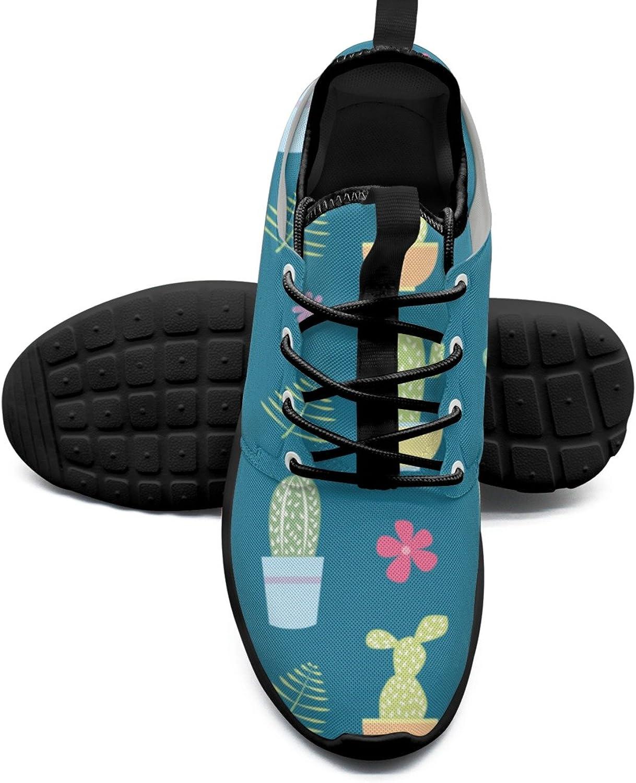 Cactus Plants01 Fashion Women's Walking shoes Cute Mesh Lightweight Sneaker