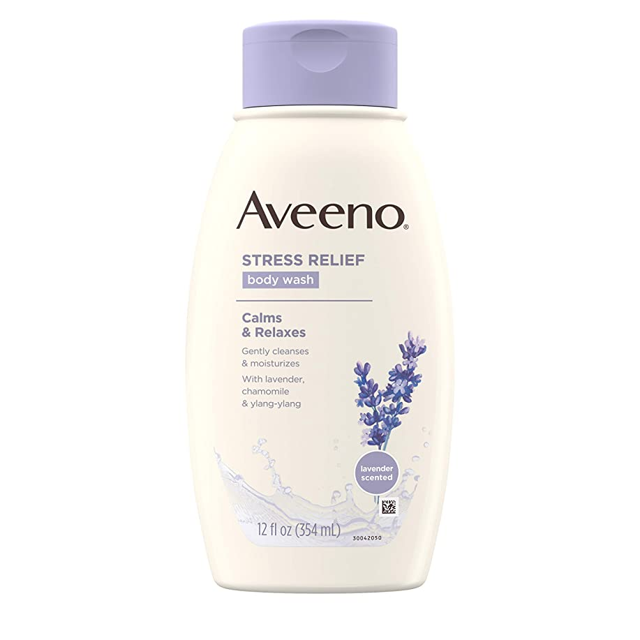 差別グラディス時系列Aveeno Stress Relief Body Wash 12 fl oz by Aveeno