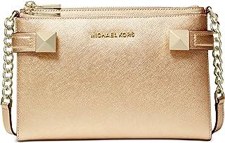 حقيبة ظهر مايكل كورس كارلا ميتاليك جلد إيست ويست من مايكل كورس