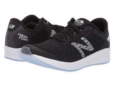New Balance Kids Fresh Foam Zante Pursuit (Little Kid) (Black/Silver) Boys Shoes