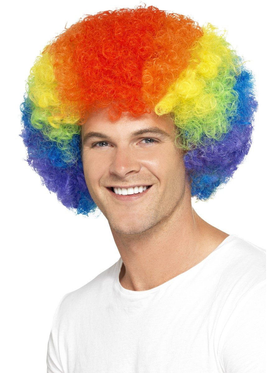 Wigs Peluca de Colores con diseño de Orgullo Gay arcoíris, Pack de ...