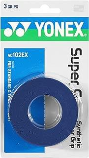 2 Pack - Yonex Super Grap Overgrip 3 Pack (Deep Blue)