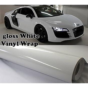 150//50cm Pelicula Adhesiva Vinilo Blanco termoformable Revestimiento de Exterior Interior C17217 AERZETIX