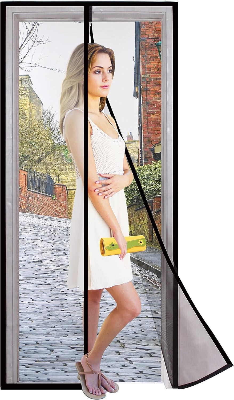 Dooreasy Hands-Free Magnetic Screen New life Door Cheap mail order specialty store Mesh F Fiberglass Full