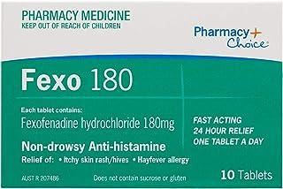 Pharmacy Choice Fexofenadine Tablets 180mg 10 (Same as Telfast)