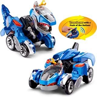 Horns The Triceratops Action Figures Vtech Switch & Go Dinos