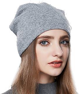 URSFUR Wool Knit Beanie Daily Hat Women Winter Warm Skullies Cap Cuff Headwear