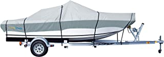 PrimeShield Boat Cover, Waterproof 600D Oxford Marine Grade Trailerable Runabout Boat Covers, Heavy Duty 13/15/16/17/18/19...