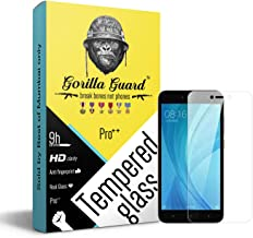 Gorilla Guard Hardness Oleophobic UV Protect 2.5D Round Edges Neo Coated Tempered Glass Screen Protector for Xiaomi Redmi ...