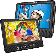 WONNIE 2 Reproductor de DVD Portátil para Coche, con 10.5&