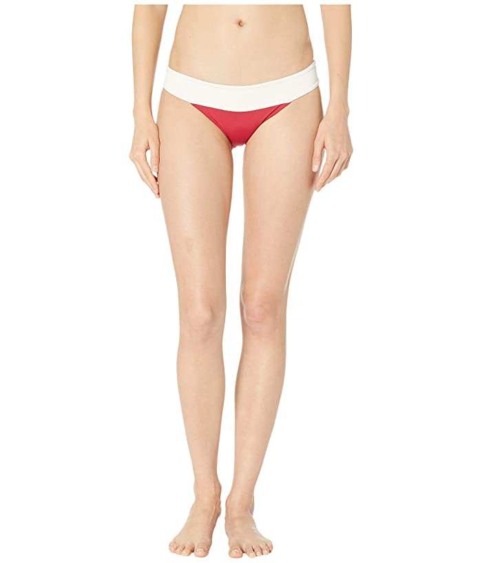 L*Space Color Block Veronica Bottoms (Strawberry) Women