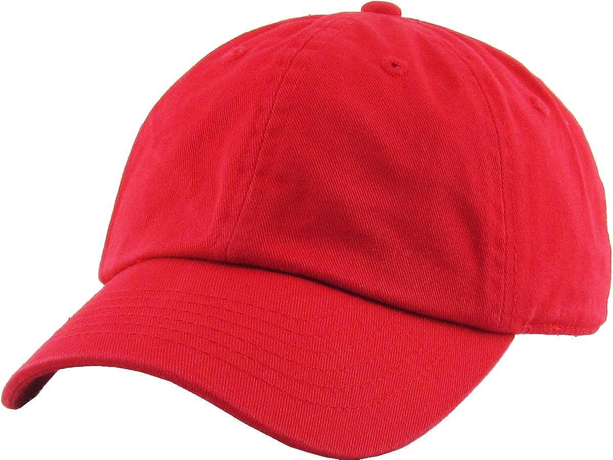 KBETHOS Kids Washed Low Profile Cotton Baseball Cap Adjustable Dad Hat