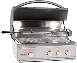 Blaze Professional 34-inch 3-burner Built-in Propane Gas Grill With Rear Infrared Burner - Blz-3pro-lp