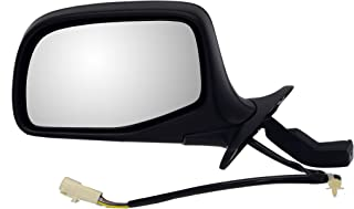 Dorman 955-265 Driver Side Power Door Mirror - Folding for Select Ford Models, Black and Chrome