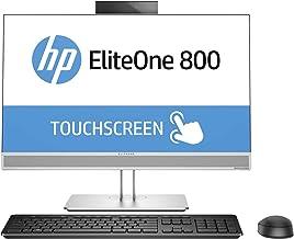 HP EliteOne 800 G4 24-Inch All-in-One Touch PC (i5-8500 Processor, 256GB SSD, 8GB RAM, HD Webcam, DVDWR, WiFi+BT5) Windows...