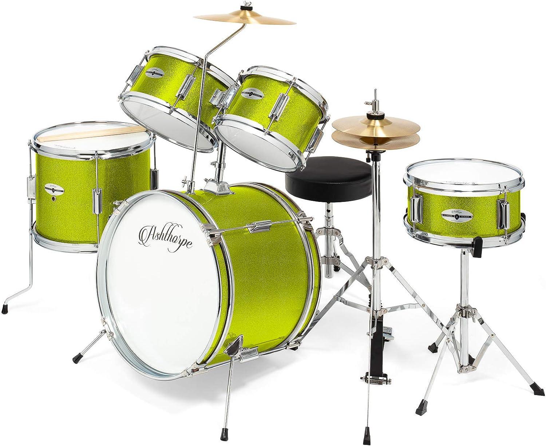 Ashthorpe 5-Piece Excellent Complete Kid's Junior Br with Drum Genuine Set Low price