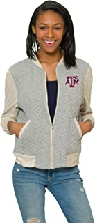 Flying Colors Women's A&M Aggies Braided Game Day Varsity Jacket …