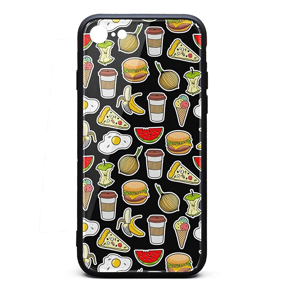 Hard iPhone 7/8 Cell Phone case Poached Egg Pizza iPhone 7 Protector Best iPhone 8 case