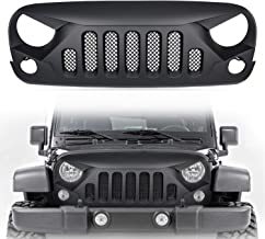 jeep jk angry grill