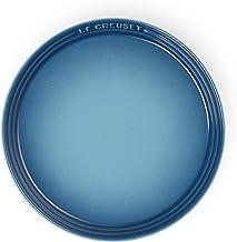 ル・クルーゼ(Le Creuset) 皿 ネオ・ラウンド・プレート 17 cm マリンブルー 耐熱 耐冷 電子レンジ オーブン 対応 【日本正規販売品】