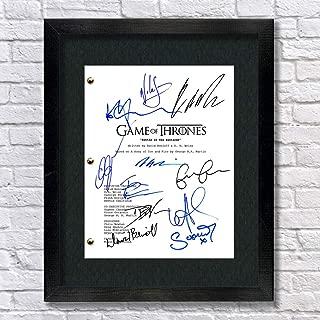 signed game of thrones script