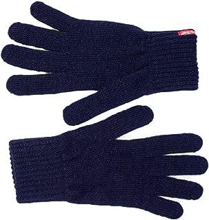Luxury Fashion   Levi's Mens 38029BLUE Blue Gloves   Fall Winter 19