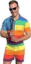 Zesties Pride Romper - Gay Pride Rainbow Male Romper
