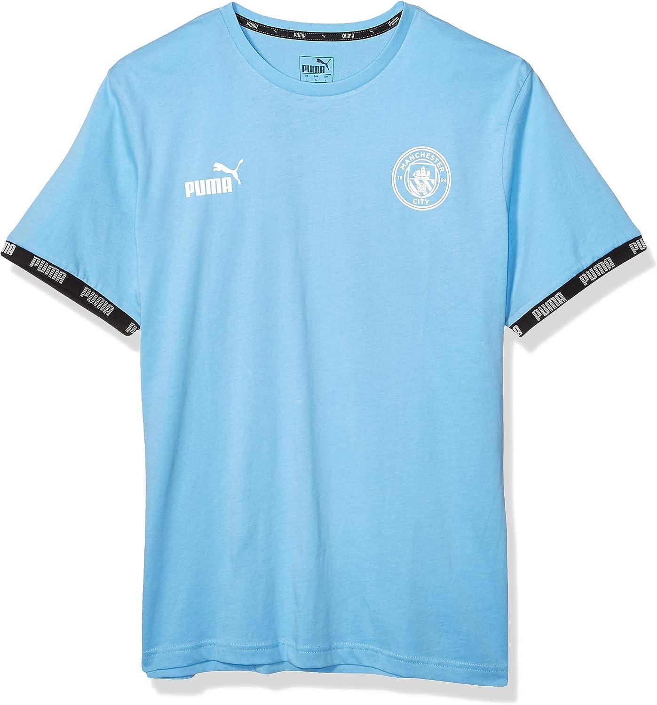 Amazon.com : PUMA Men's Manchester City MCFC Ftblculture Tee ...