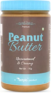 Tastylo Natural Peanut Butter 1Kg ( unsweetened)