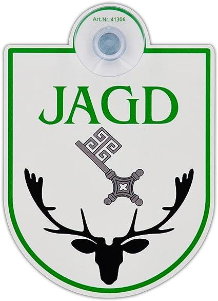 Saugnapfschild Schild Jagd Bremen Acrylschild 3mm Mit Saugnapf 30mm Ca 90x125 Mm Für Scheibeninnenbefestigung Auto