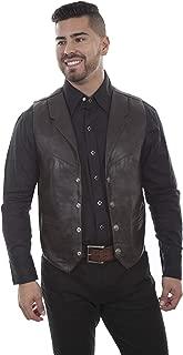 Scully Men's Lambskin Lapel Vest - 509.144