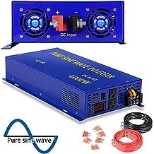 XYZ INVT 4000 Watt Pure Sine Wave Inverter 48V DC to 120V AC, 4000W Power Invert Surge 8000W Power Converter for Solar System. (4000W 48V)