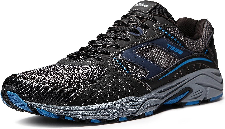 TSLA TF-T330-DGN_Men 9.5 D(M) Men's Outdoor Sneakers Trail Running shoes T330