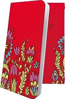 スマートフォンケース・Xperia J1 Compact D5788・互換 スマートフォンケース・手帳型 花柄 花 フラワー 華 ボタニカル エクスペリア コンパクト 女性 女の子 女子 レディース XperiaJ1 おしゃれ