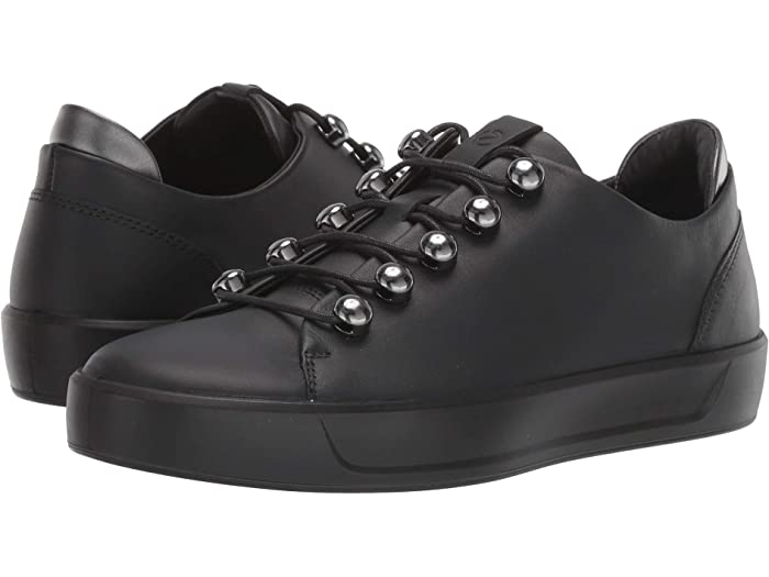 ecco leather sneakers