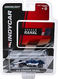 Indy Car #15 Graham Rahal United Rentals Rahal Letterman Lanigan Racing 1/64 Diecast Model Car by Greenlight 10850