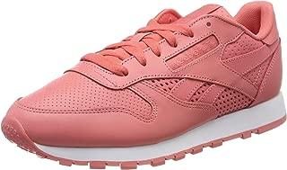 Reebok Women's Classic Leather Sneaker, Rose/White