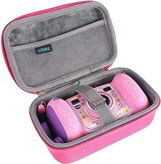 co2crea Hard Travel Case for VTech Kidizoom Duo Selfie Camera (Pink)