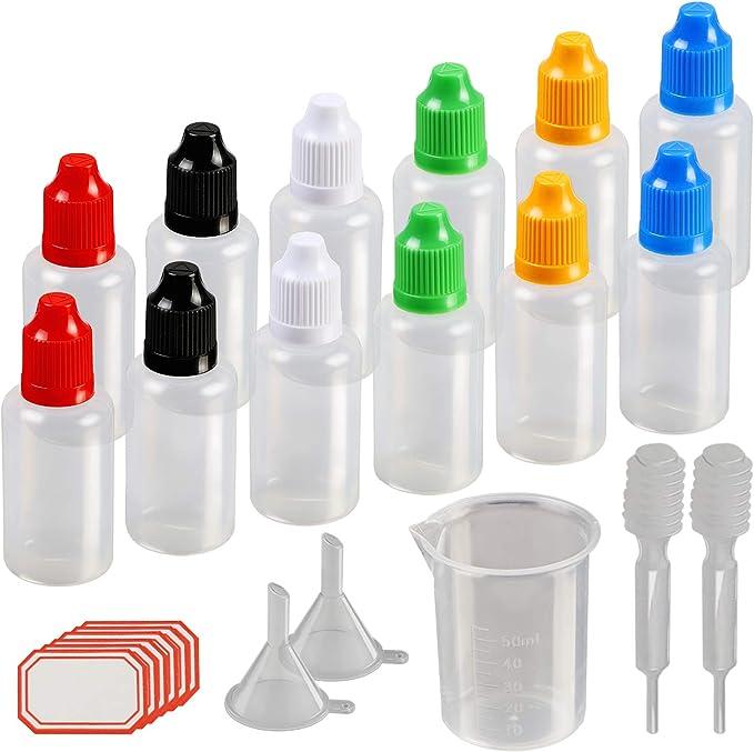 1380 opinioni per KAKOO 12 pz 30 ml Contagocce Bottiglie Multiuso Portabile Bottiglia Plastica