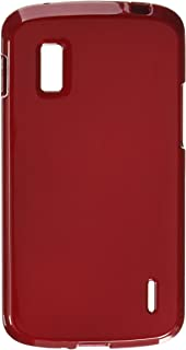 Asmyna LGE960HPCSO002NP Premium Durable Protective Case for LG Nexus 4 E960 - 1 Pack - Retail Packaging - Red