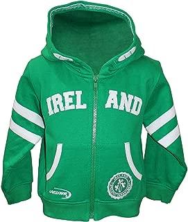 green ireland zip hoodie