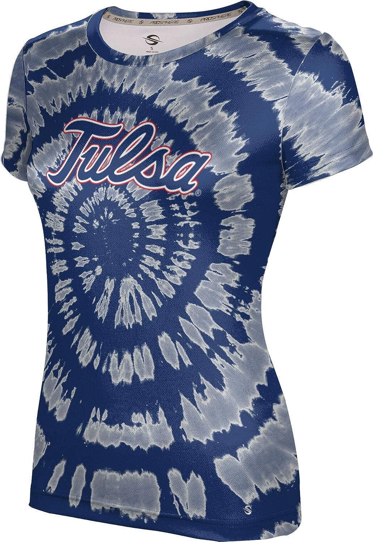 ProSphere University of Tulsa Girls' Performance T-Shirt (Tie Dye)
