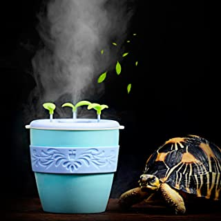 pranovo Reptile Fogger Humidifier Humidifying Fog Machine Terrarium Tank Potted Plant Pet Supplies for Amphibians Lizard Leopard Gecko Lizard Scorpion Crested Gecko Crickets Beetle