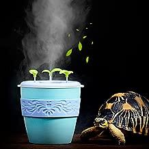 pranovo Reptile Fogger Humidifier Humidifying Fog Machine Terrarium Tank Potted Plant Pet Supplies for Amphibians Lizard Leopard Gecko Lizard Scorpion Crested Gecko Crickets Beetle