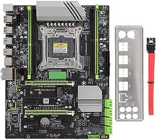 Diyeeni Placa Base, LGA2011-V3 Computadora de Escritorio Placa Base Placa Base de Juegos Adecuada para Chipset Inter x99, Fuerte y Duradero