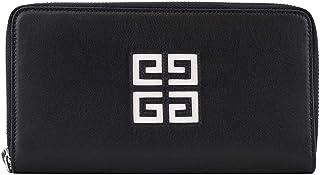 [ジバンシィ]GIVENCHY 長財布 BK600GKOED 4G ZIP ROUND WALLET レディース 004 BLACK/WHITE [並行輸入品]