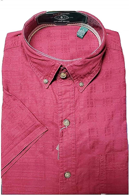 G.H. Bass Co. Men's Shirt Woven quality assurance Short Ranking TOP11 Sleeve