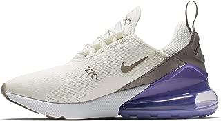 Nike W Air Max 270 Womens Sneakers AH6789-107, Sail/Pumice-Space Purple-White, Size US 9.5